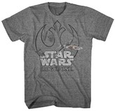 Star Wars® Men's Rogue One Rebel Logo T-Shirt Charcoal Heather