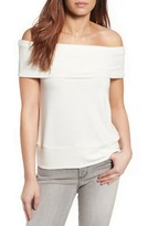 Cupcakes And Cashmere Women's Wineberg Off The Shoulder Top