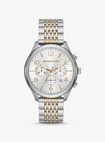 Michael Kors Merrick Two-Tone Watch