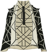 Gareth Pugh graphic sleeveless sweater