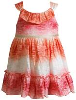 Youngland Baby Girl Ombre Burnout Dress