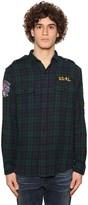 Polo Ralph Lauren Regular Fit Checked Cotton Twill Shirt