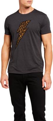 John Varvatos Men's Cheetah Bolt Graphic T-Shirt