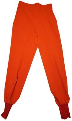 Stella McCartney Stella Mc Cartney Red Trousers for Women