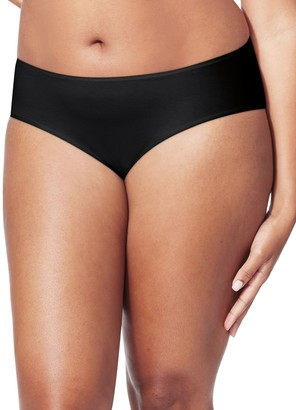 Just My Size Women's Plus Size 5-Pack Breathable Stretch Hipster