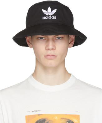 adidas Black Adicolor Bucket Hat
