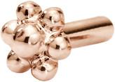 Maria Tash 5MM Threaded Ball Flower Back - Rose Gold