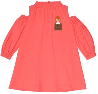 Fendi Stretch-cotton dress