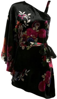Natori floral tunic