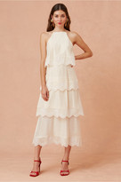 Keepsake HIGH HOPES MIDI DRESS vanilla