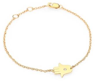 Jennifer Zeuner Jewelry Hamsa Bracelet