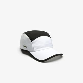 Lacoste Men's SPORT Lightweight Color-Block Tennis Cap
