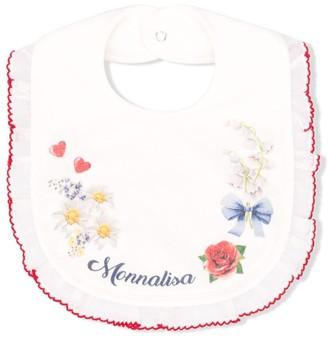 MonnaLisa Floral-Print Bib