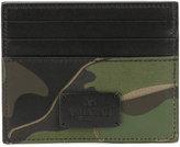 Valentino Garavani Valentino camouflage cardholder - men - Leather - One Size