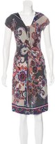 Etro Abstract Print Sleeveless Dress