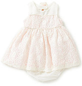 Rare Editions Baby Girls 3-24 Months Sequin-Embellished Color Block Dress