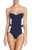 Tory Burch Women's 'Lipsi' Underwire One-Piece Swimsuit