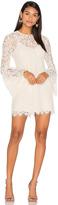 Rachel Zoe Bell Sleeve Mini Dress