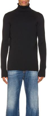 Balenciaga Long Sleeve Turtleneck in Black   FWRD