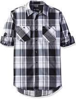 Akademiks Men's Prince Woven Shirt