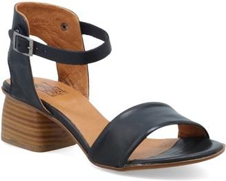 Miz Mooz Leather Low Heel Dress Sandals - Natalia