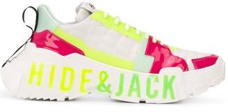 Hide&Jack Unisex Lace-Up Trainers