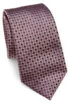 Saks Fifth Avenue COLLECTION Tetris Silk Tie