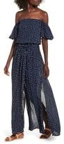 Faithfull The Brand Women's La Digue Off The Shoulder Maxi Dress