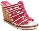 Two Lips Too Umbre Open Toe Slide Wedge