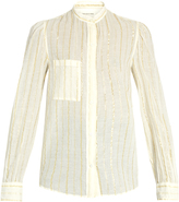 Etoile Isabel Marant Cotton-blend striped shirt