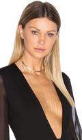 Ettika Drop Chain Choker Necklace