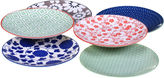 Certified International Mix And Match Chelsea Set of 6 Canap Plates