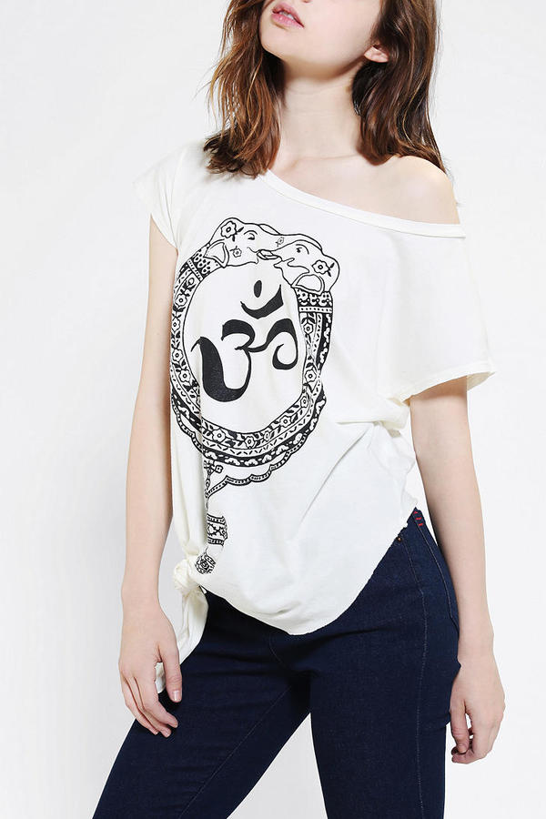 Urban Outfitters Project Social T Off-The-Shoulder Tee