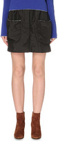 J.W.Anderson Patch pocket shell mini skirt