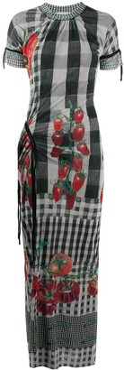 Ottolinger Tomato-Print Maxi Dress