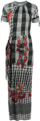 Ottolinger Tomato-Print Maxi Dress