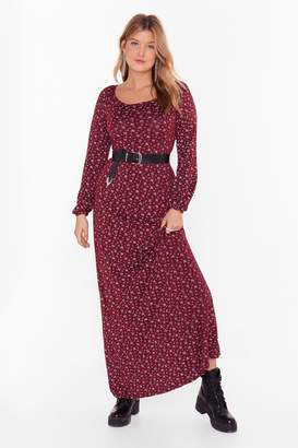 Nasty GalNasty Gal Womens You'Re Growin' On Me Plus Floral Dress - Red - 22, Red