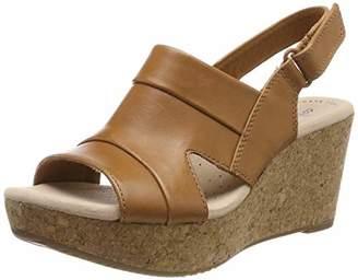 Clarks Annadel Ivory, Women's Sling Back Sandals,(39.5 EU)