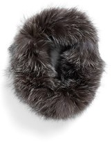 Dena Women's Genuine Fox Fur Cowl Collar