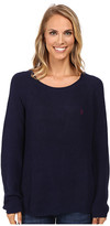 U.S. Polo Assn. V-Inset Raglan Sleeve Sweater