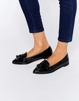 Carvela Magnum Tassle Point Flat Shoes