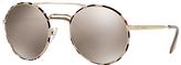 Prada PR 51SS Round Sunglasses