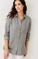 J. Jill Linen Big Shirt