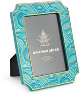 Jonathan Adler Teal Malachite Frame 4 X 6