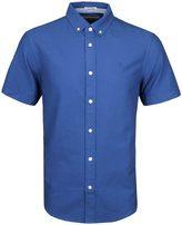 Penguin True Blue Heritage Slim Fit Short Sleeve Oxford Shirt