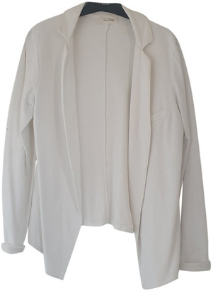 American Vintage White Cotton Jackets