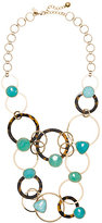 Kate Spade Sun kissed sparkle statement necklace