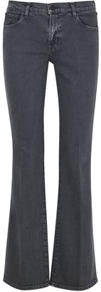 J Brand Sallie Grey Bootcut Jeans