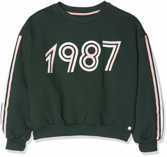 IKKS Junior Girl's Sweat Molleton Fonce 1987 Sweatshirt