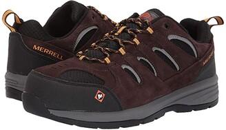 Merrell Work Windoc Steel Toe (Black) Men's Shoes